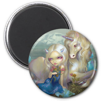 """""""Fiona and the Unicorn"""" Magnet"""