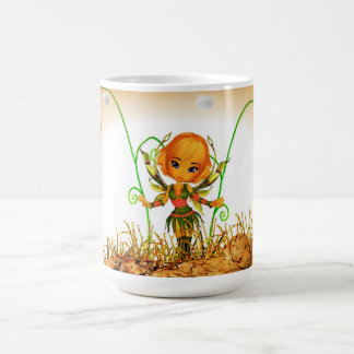 """Fiona"" Irish Green Fairy Digital Art Mug"