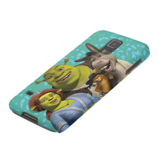 Fiona, Shrek, Puss In Boots, And Donkey Galaxy S5 Cover