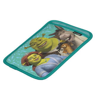 Fiona, Shrek, Puss In Boots, And Donkey iPad Mini Sleeve