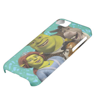 Fiona, Shrek, Puss In Boots, And Donkey iPhone 5C Case