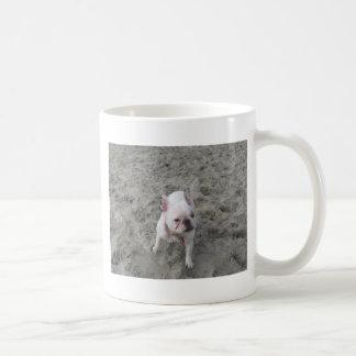 Fiona the Frenchie Basic White Mug