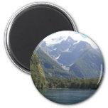 Fiordland National Park, New Zealand 6 Cm Round Magnet