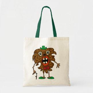 Fir-cone monster funny Bag