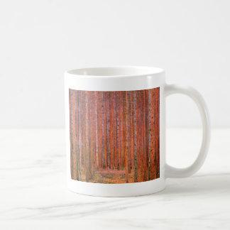 Fir Forest I cool Coffee Mugs