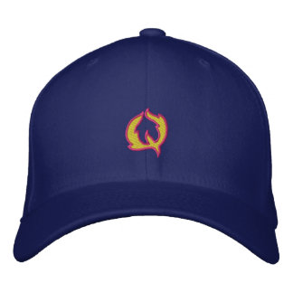 Fire #1 Letter Q Embroidered Hat