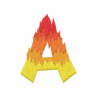 Fire #2 Letter A