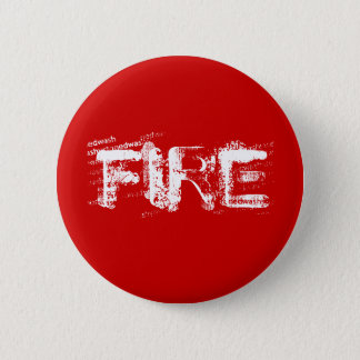 FIRE 6 CM ROUND BADGE