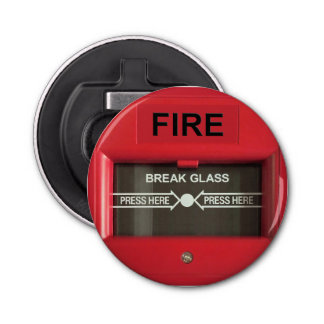 Fire Alarm Bottle Opener
