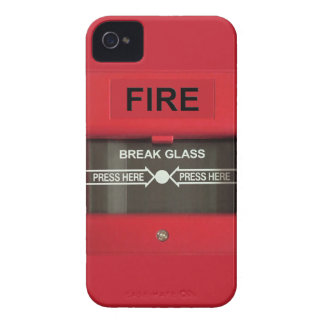 Fire Alarm iPhone 4 Case-Mate Cases