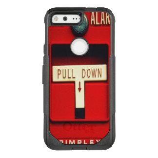 Fire alarm OtterBox commuter google pixel case