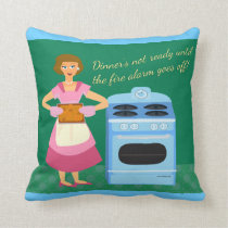 Fire Alarm Supper Time Cushion