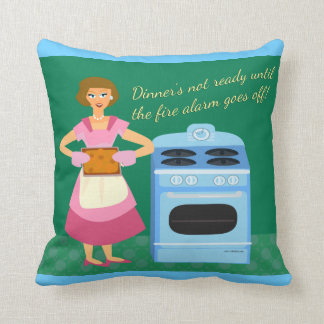 Fire Alarm Supper Time Cushions