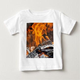 fire and flames baby T-Shirt