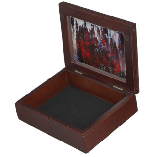 Fire and Ice Keepsake Box