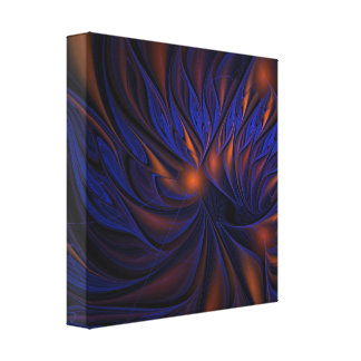 Fire and Ice Stretched Canvas Prints