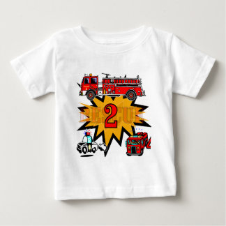 Fire and Rescue 2nd Birthday Tshirts and Gifts