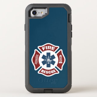 Fire and Rescue OtterBox Defender iPhone 7 Case