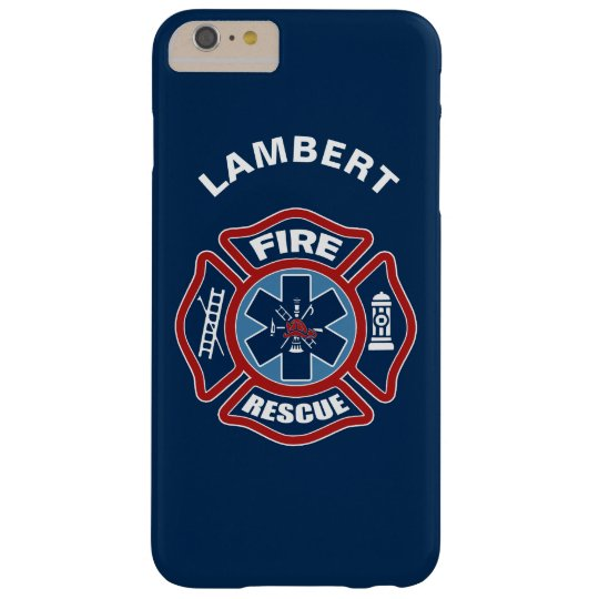 Fire and Rescue Red and Blue Barely There