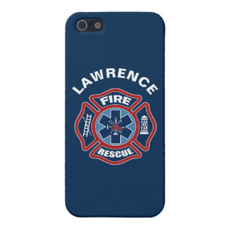 Fire and Rescue Red and Blue iPhone 5/5S Case