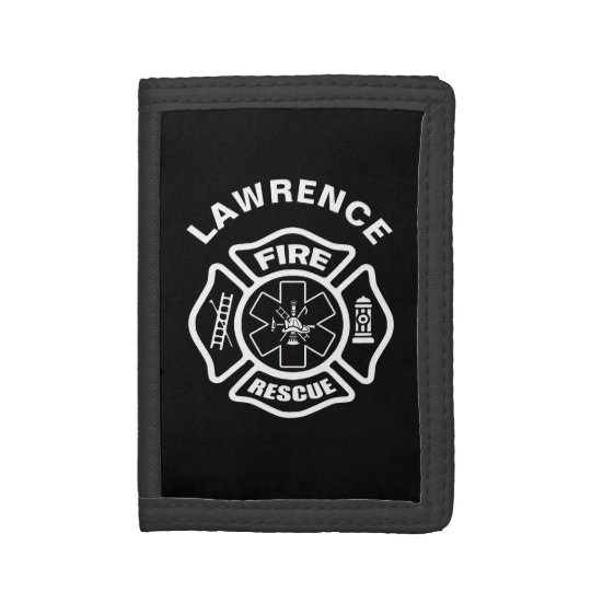 Fire and Rescue Trifold Wallets