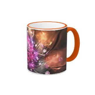 Fire and silk coffee mug