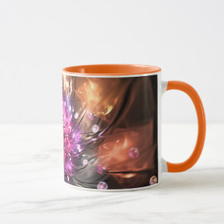 Fire and silk mug