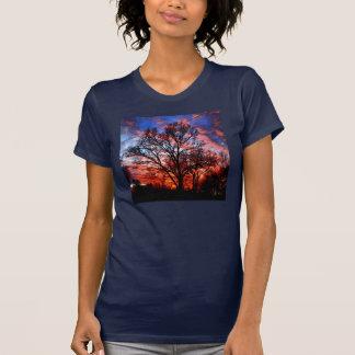FIRE AND WATER TREE SKY SHIRT