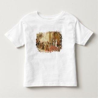 Fire at the Austrian Embassy (oil on canvas) Tshirts