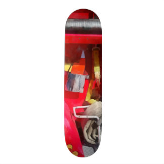 Fire Axe and Hose Skate Board Deck