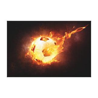Fire Ball Canvas Print