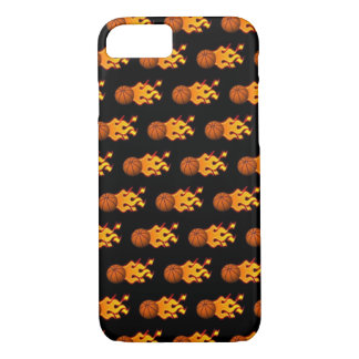 Fire Basketball iPhone 8/7 Phone Case