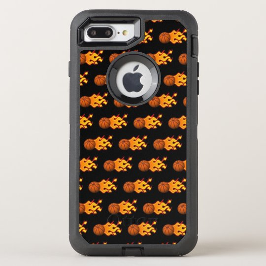 Fire Basketball iPhone 8/7 Plus Otterbox Case