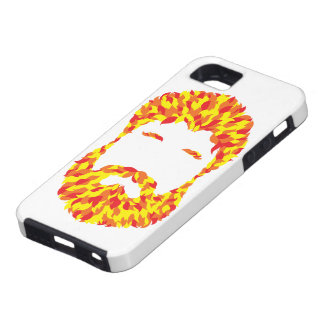 Fire Beard iPhone 5 Covers