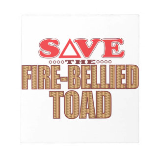 Fire-Bellied Toad Save Notepad