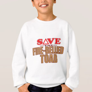 Fire-Bellied Toad Save Sweatshirt