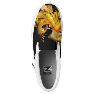 Fire Bird Slip-On Shoes