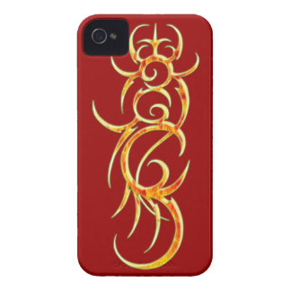 Fire blade iPhone 4/4S ID Barely There Case-Mate iPhone 4 Case