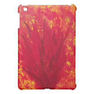 FIRE BLOOM abstract ipad case