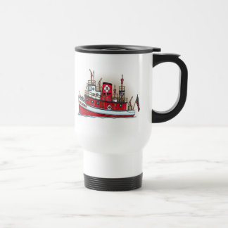Fire Boat Travel Mug