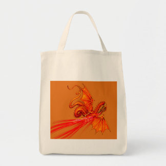 Fire breathing dragon bag