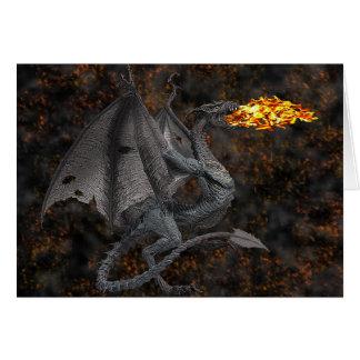 Fire-Breathing Dragon Card