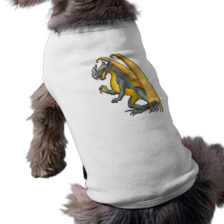Fire Breathing Dragon Dog Tee