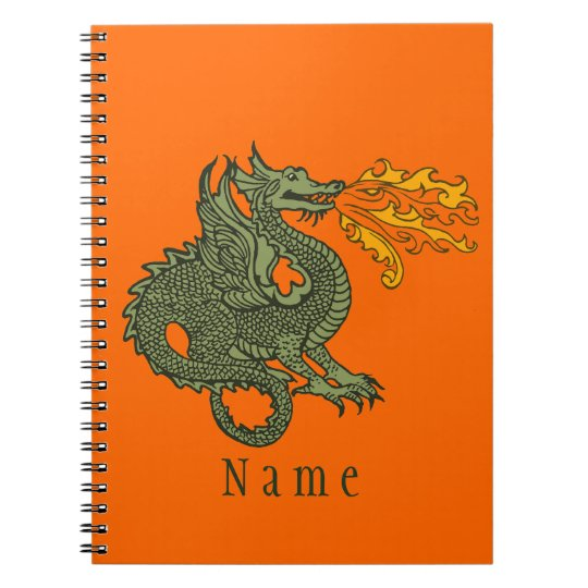 Fire Breathing Dragon Notebooks
