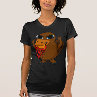 Fire Breathing Platypus T-Shirt