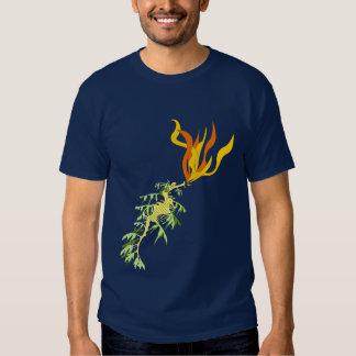 Fire Breathing Sea Dragon Tee Shirt