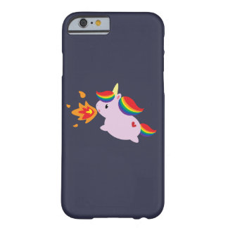 Fire-Breathing Unicorn Barely There iPhone 6 Case