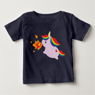 Fire-Breathing Unicorn Shirts