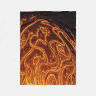 Fire Bug Fleece Blanket