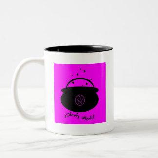 Fire Burn and Cauldron Bubble Witch s Mug